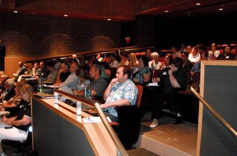 Attendees at an AspenTech Event