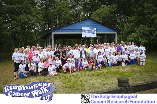 4th Annual Esophageal Cancer Walk/Run- The Salgi Esophageal Cancer Research Foundation SALGI.org