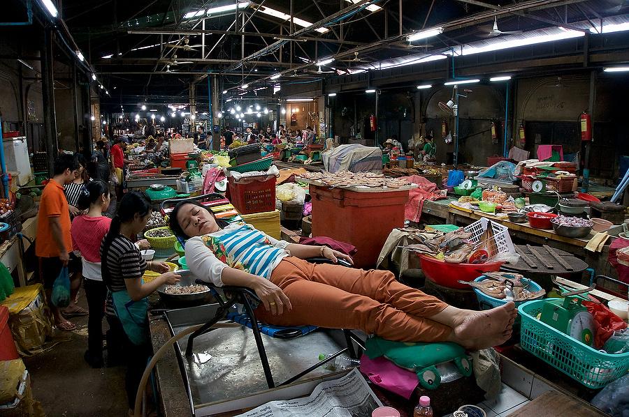 Siem Reap Market, Cambodia