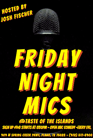 Friday Night Mics Image