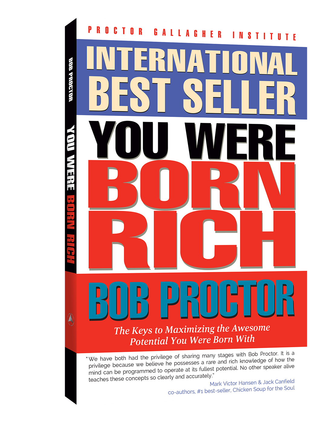 Book Cover - You Were Born Rich