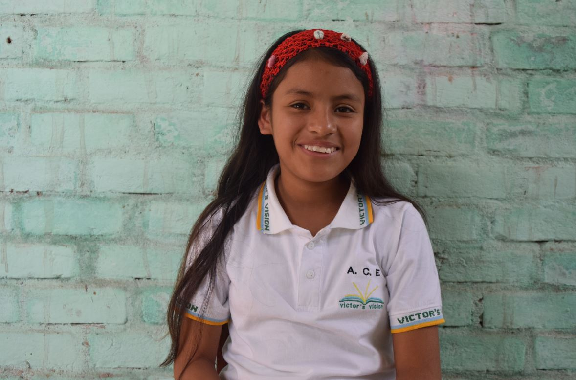Guadalupe, 6th Grader at Victor's Vision