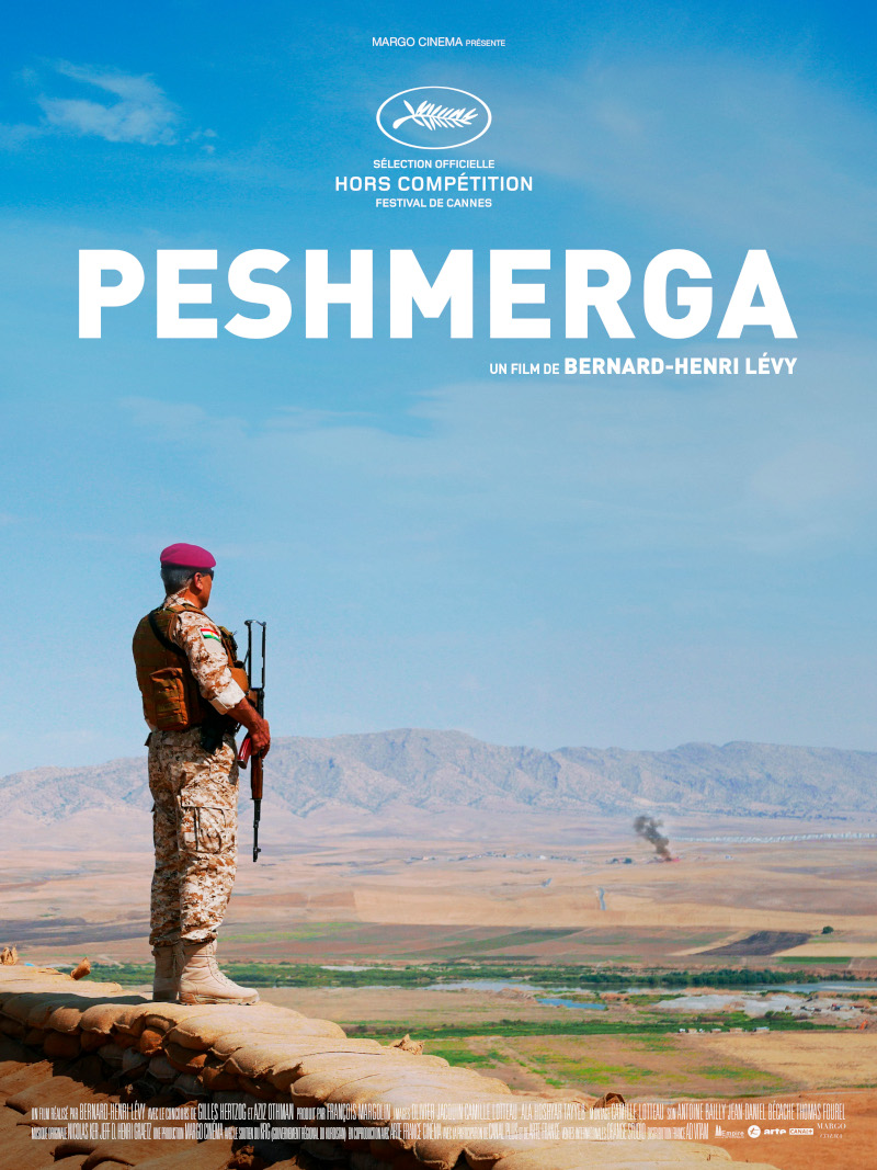 LA RÈGLE DU JEU AND JUSTICE FOR KURDS INVITE YOU TO A SPECIAL FI LM SCREENING OF PESHMERGA BY FRENCH PHILOSOPHER AND ACTIVIST BERNARD-HENRI LÉVY