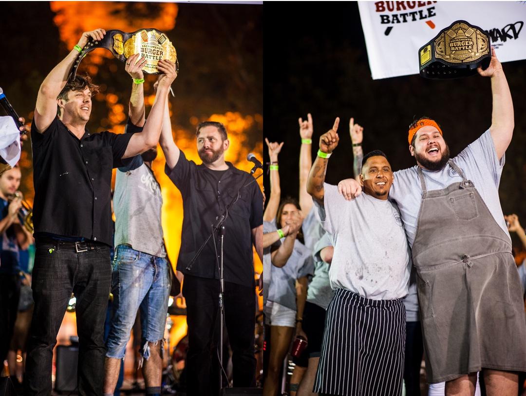 2017 Sacramento Burger Battle Winners