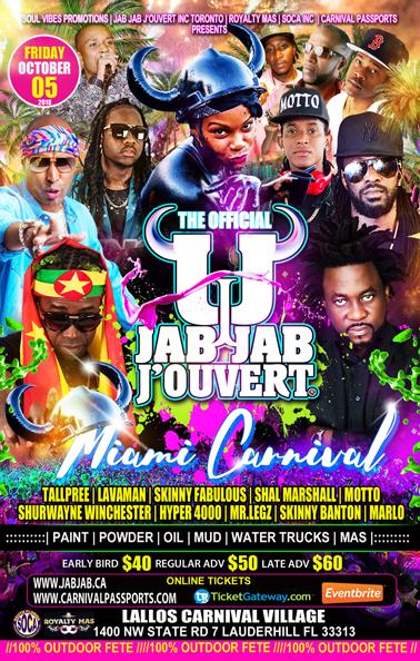 Jab Jab J'Ouvert Miami