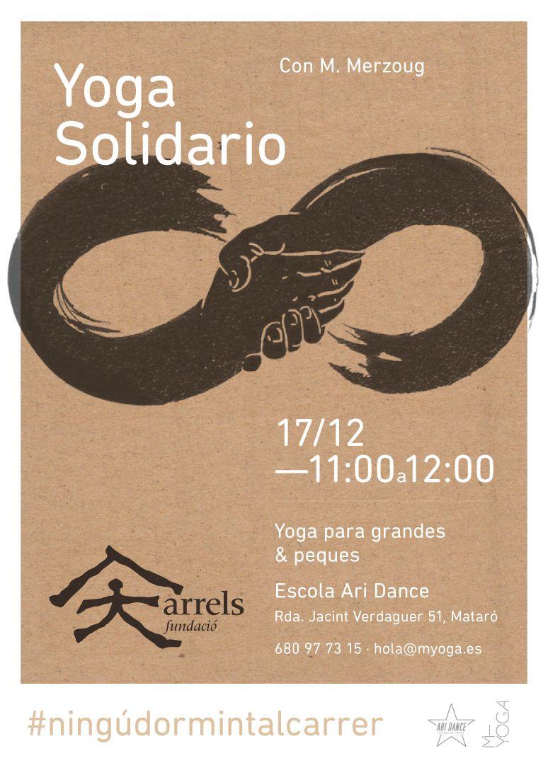 Flyer Yoga Solidario