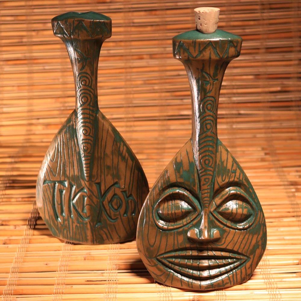 Official Tiki Kon: Pageant of the Pacific decanter by VanTiki