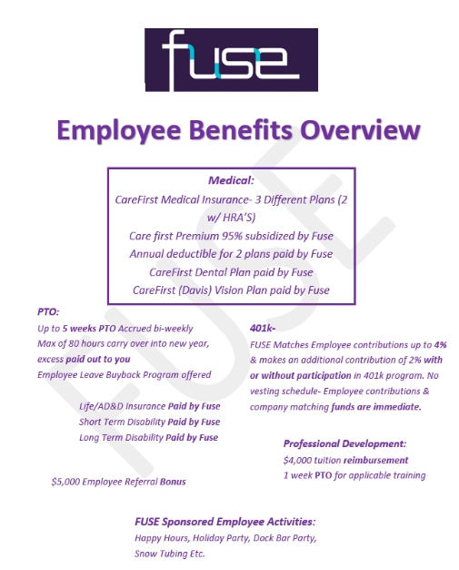 FUSE Engineering Benefits