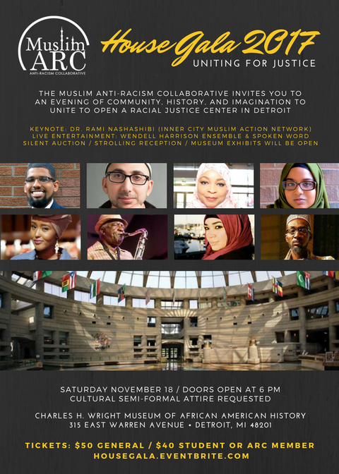 MuslimARC House Gala Poster