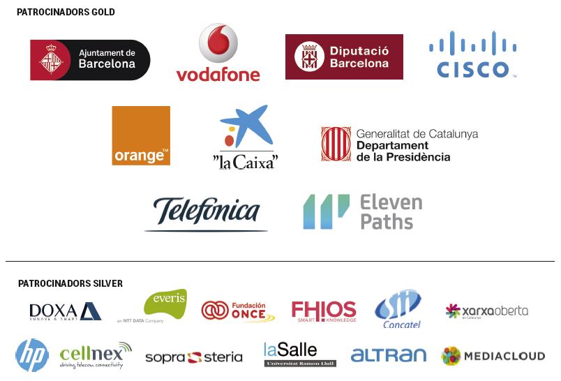 Patrocinadores Gold y Silver de la Diada TIC de Graus Tic
