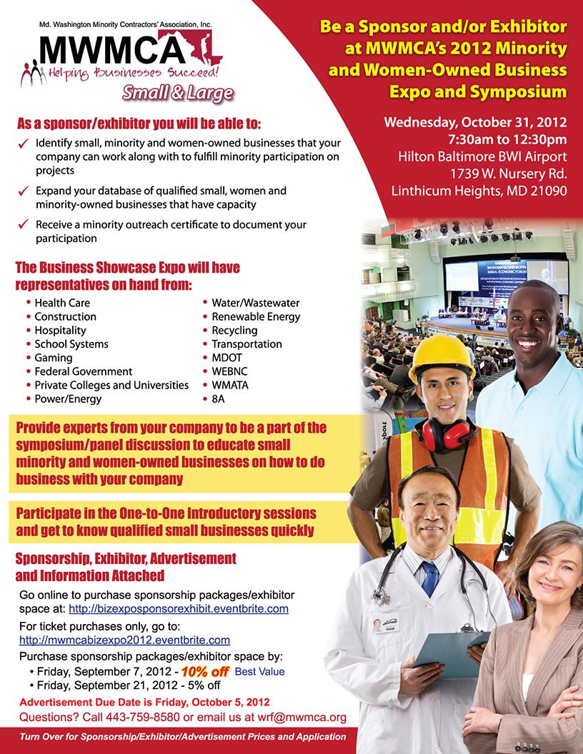 2012 Business Expo and Symposium - Sponsor/Exhibitor (1)