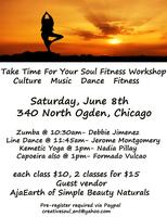 Take Time For Your Soul Fitness Workshop