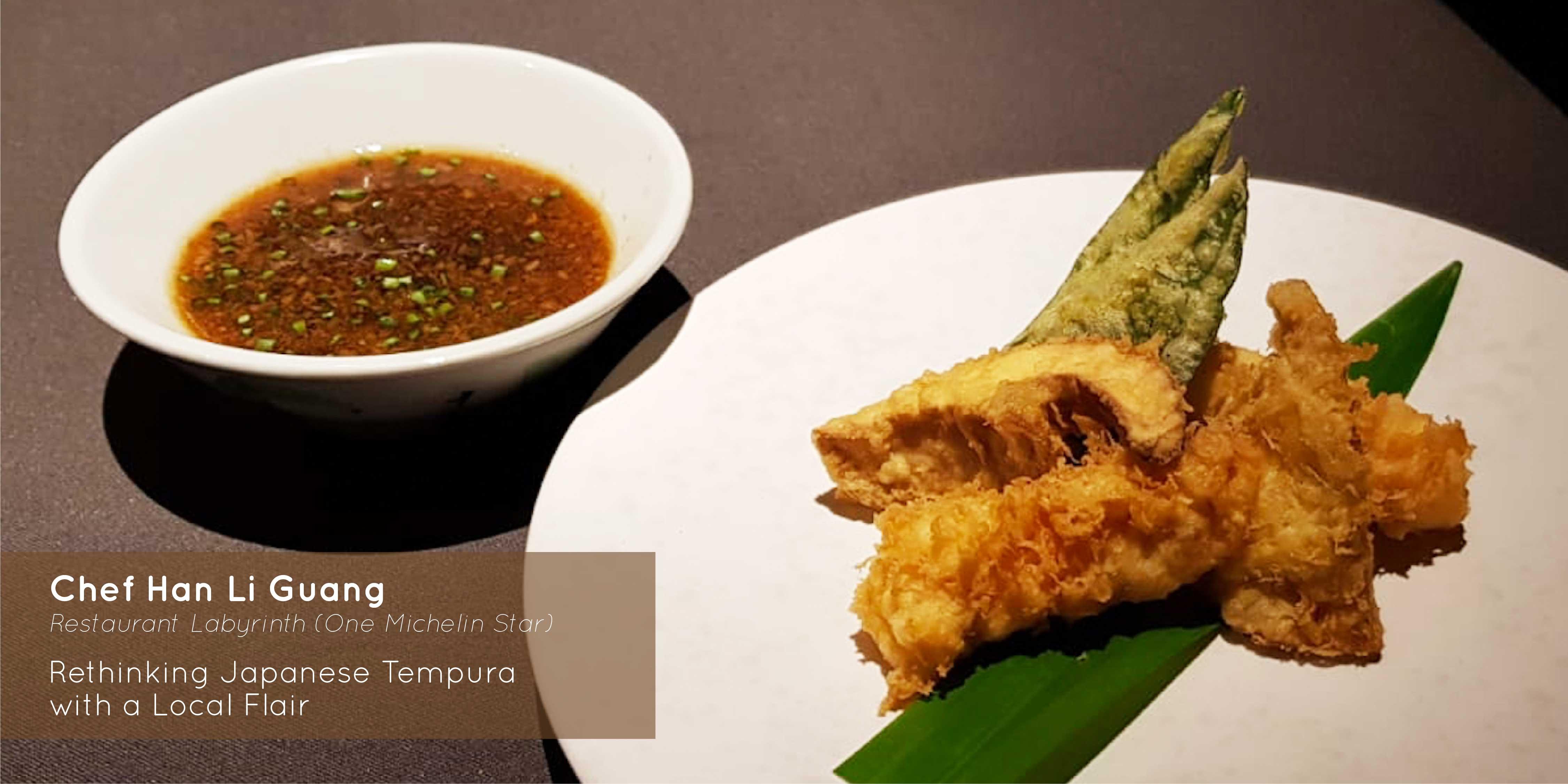 Sprout - Chef LG Han - Japanese tempura