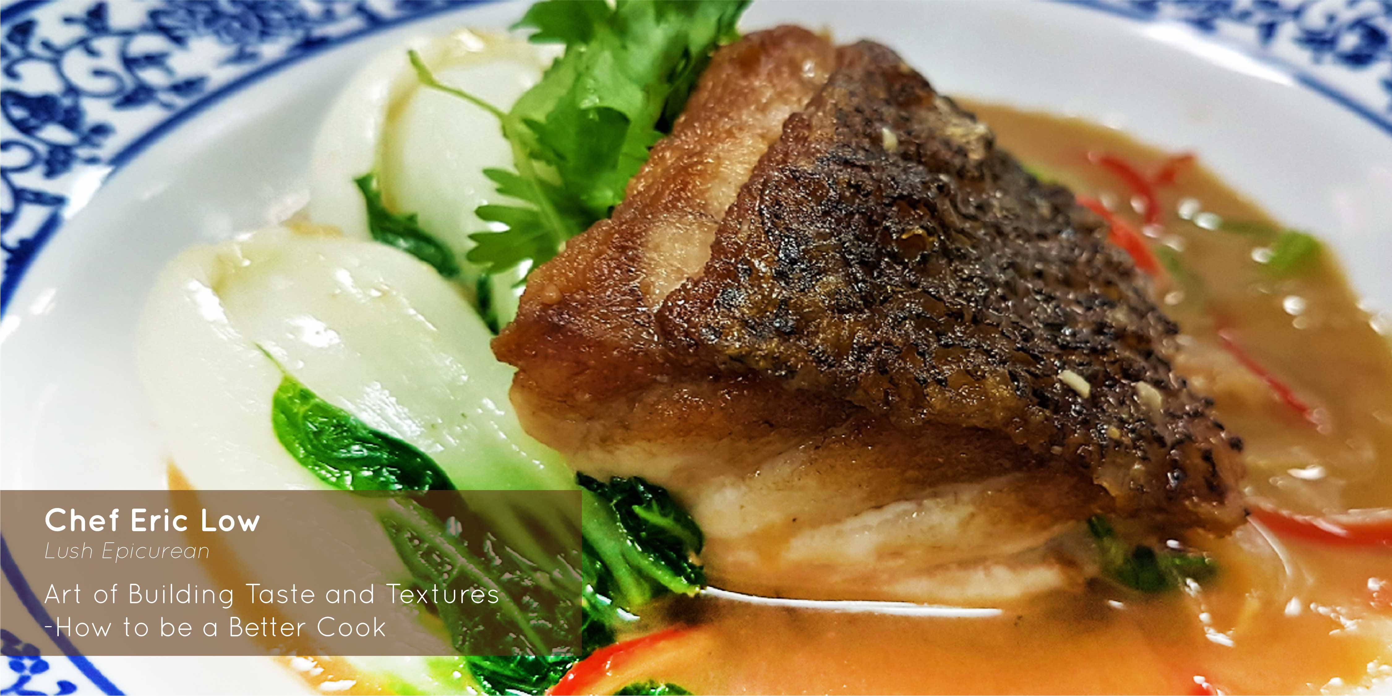 Sprout - Chef Eric Low - Teochew Style Fish