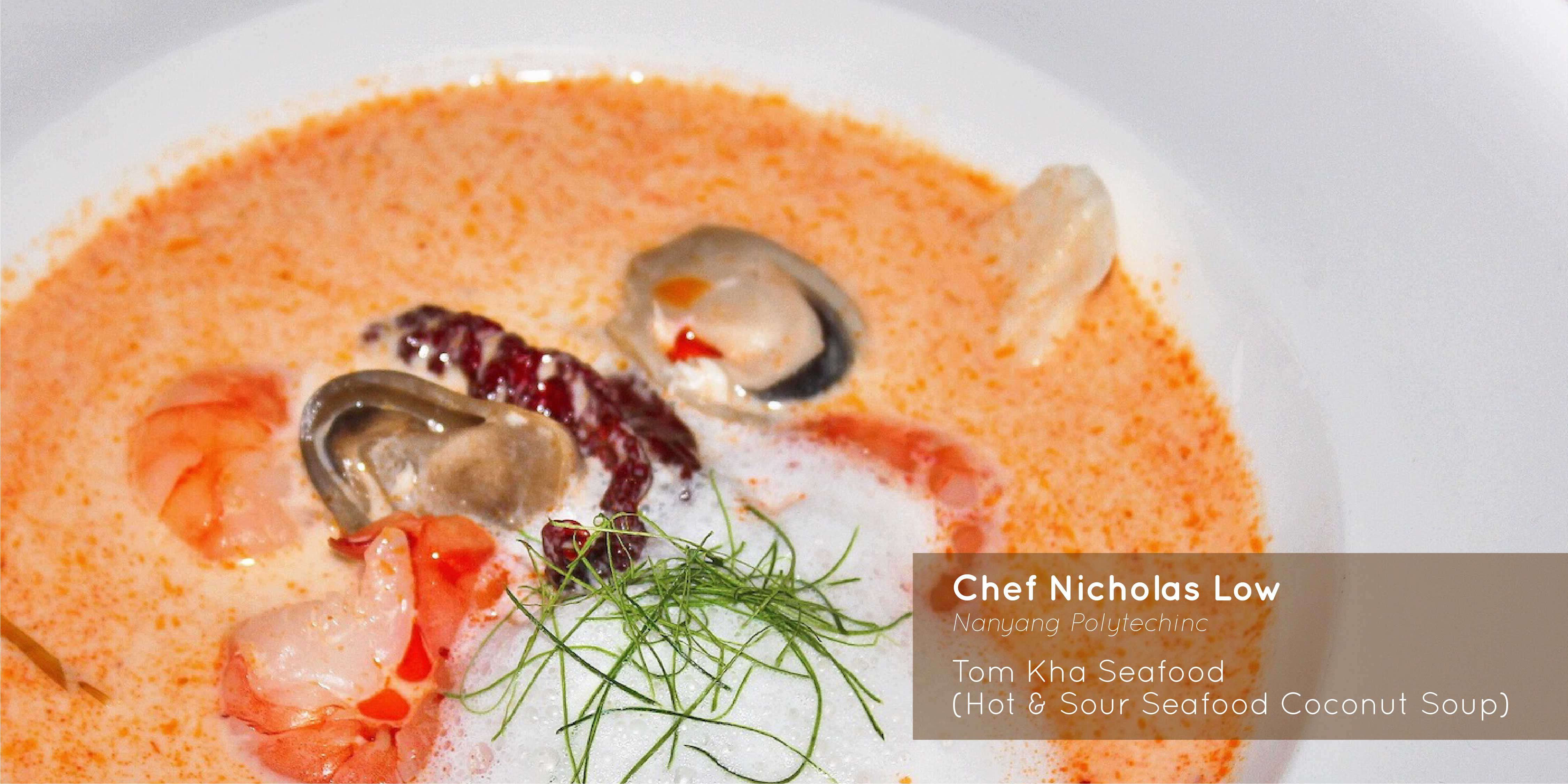 Sprout - Chef Nicholas Low - Tom Kha Seafood