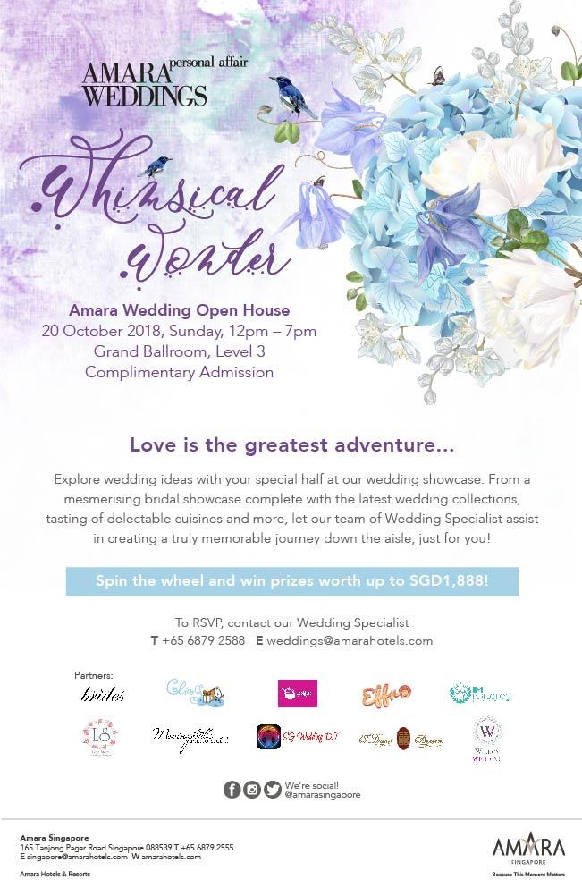 Wedding Show at Amara Singapore Hotel