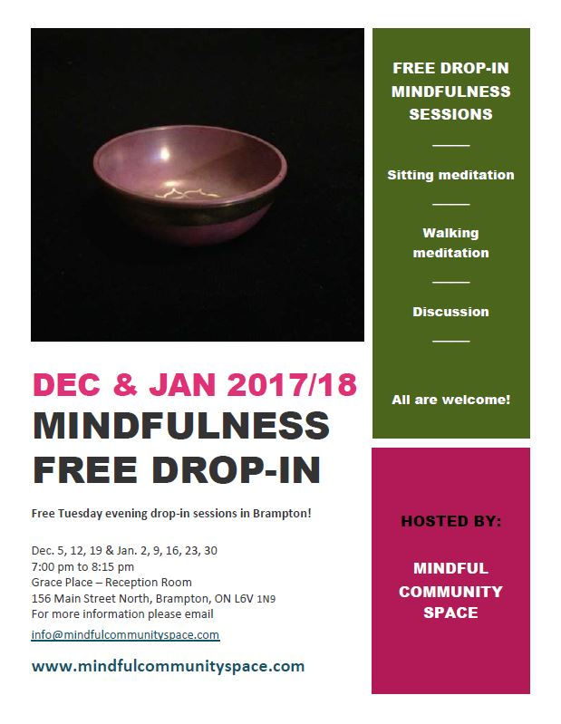Mindfulness Drop-in Poster
