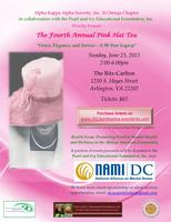 4th Annual Pink Hat Tea - Ritz Carlton, Pentagon City