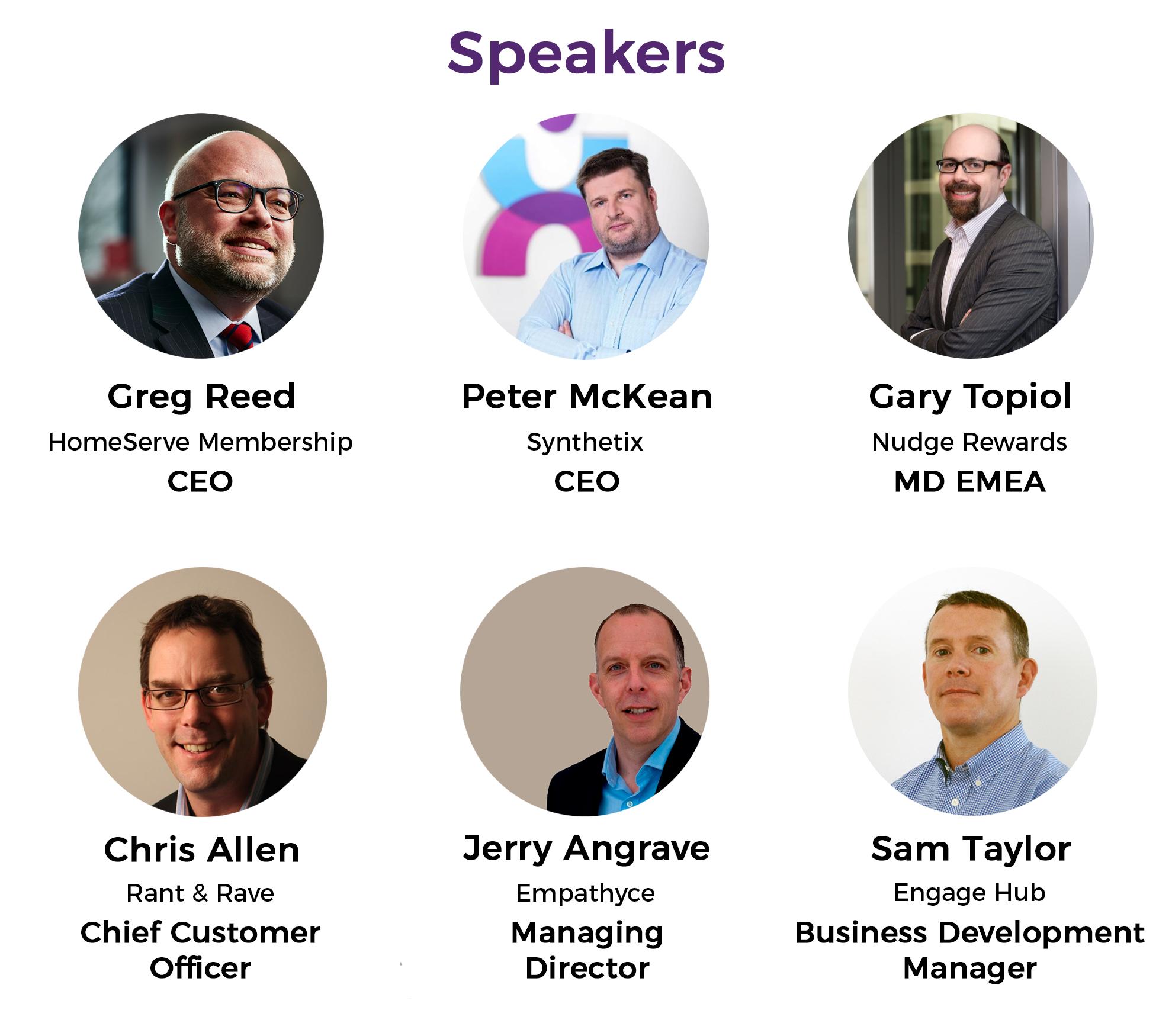 CX Day 2017 Speakers