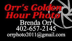 Orr Photography Sponsor