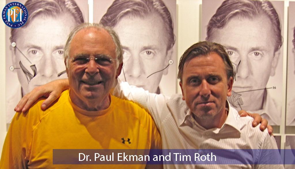 Dr. Ekman and Tim Roth