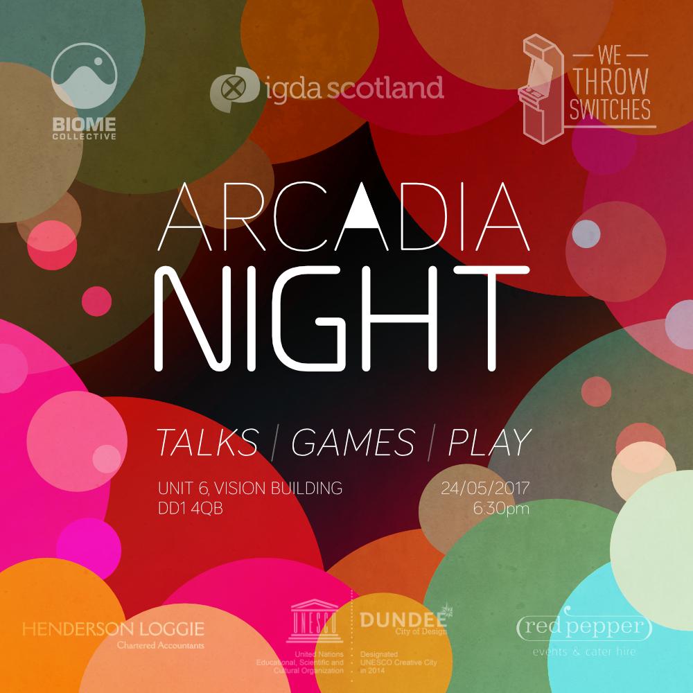 arcadia night