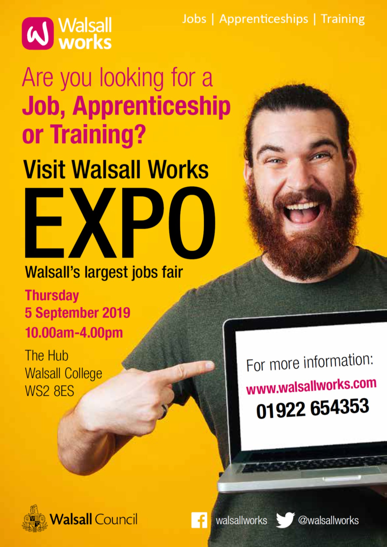 Walsall Works Expo Flyer