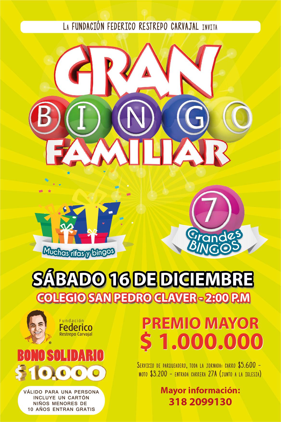 Gran BINGO Fundación FRC