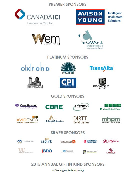 2015 Annual Sponsors