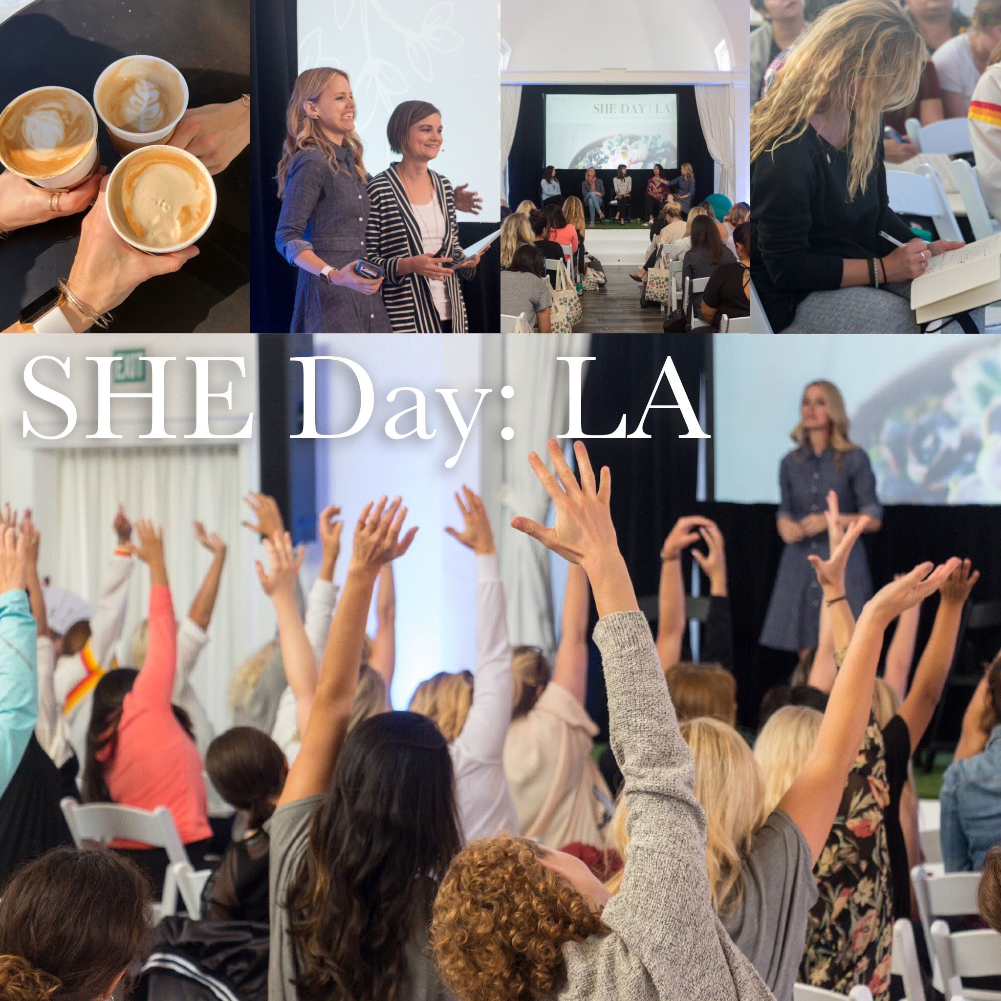 Highlights from SHE Day: LA - a sustainable, healthy, ethical women's event!