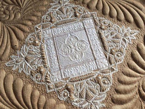 Batternburg Lace by Kelly Cline