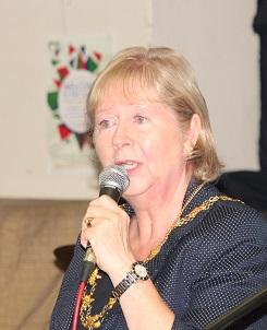 Redbrige Mayor, Cllr Linda Huggett