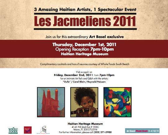 Haitian Heritage Museum Art Basel