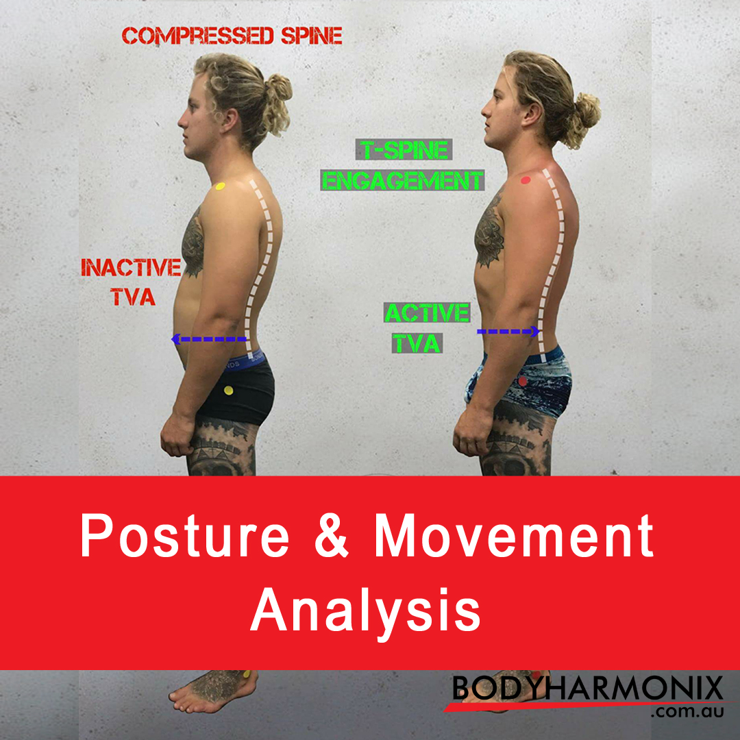 MMA athlete's posture before & after training