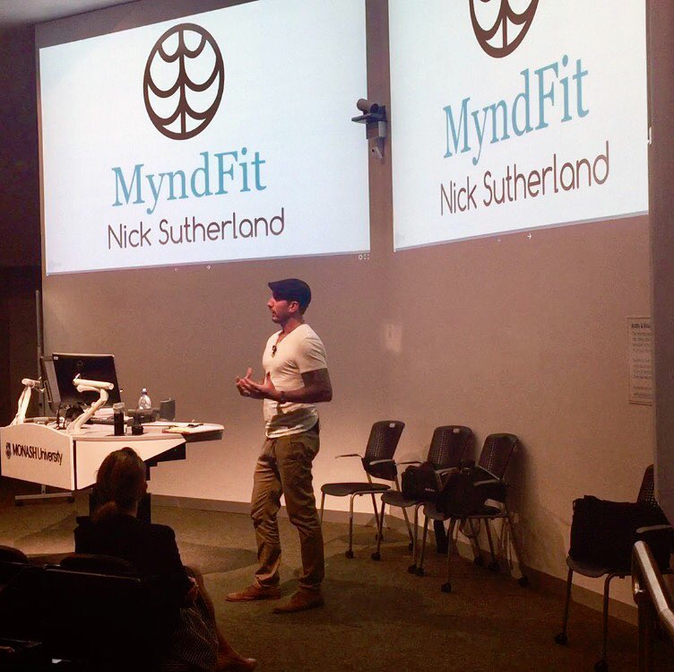 Nick Sutherland presenter