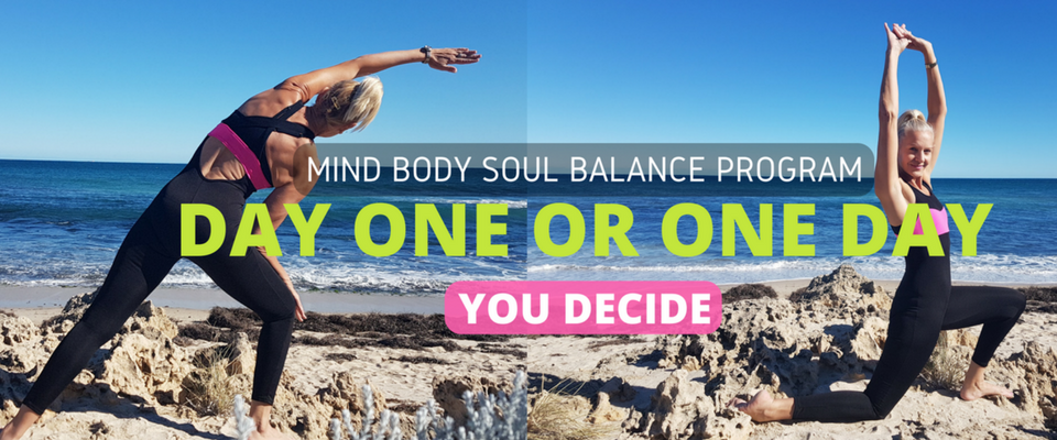 Mind Body Soul Balance Program by Rose Burnett