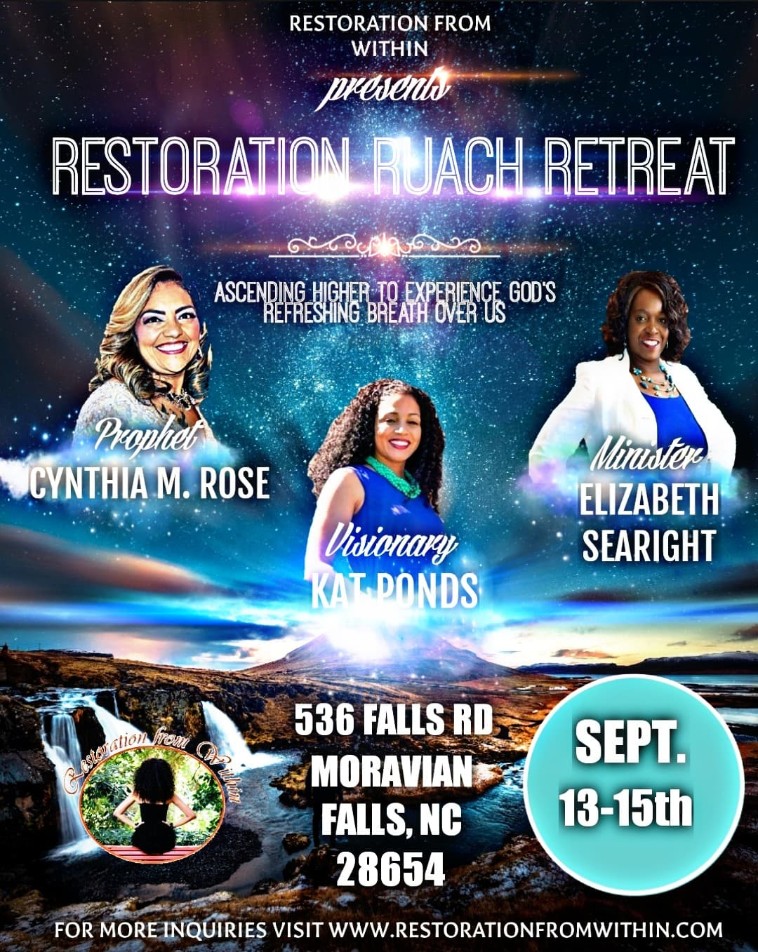 Restoration Weekends: Ruach(God's Breath) Retreat