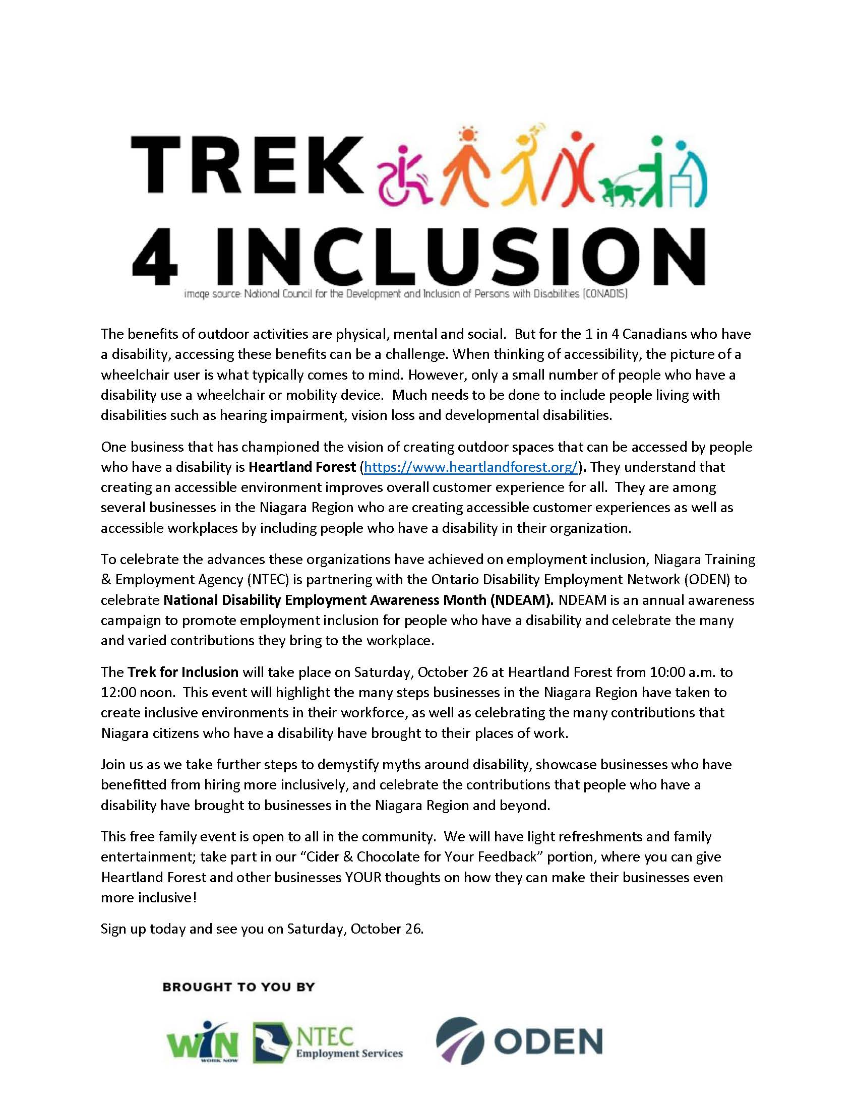 Trek 4 Inclusion