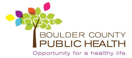 Boulder County Public Health logo - Opportunity for a healthy life