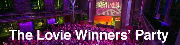 The Lovie Awards Winners' Party
