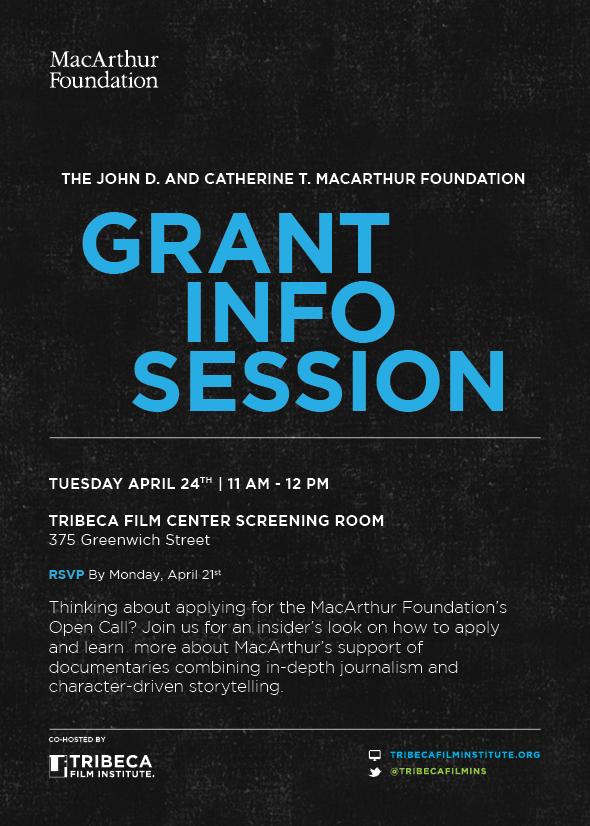 MacArthur Event Invitation