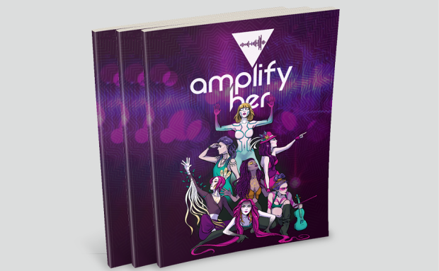 Amplify Her Graphic Novel