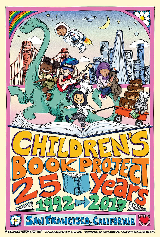 CBP 25th Anniversary Art by Sarah Goodwin