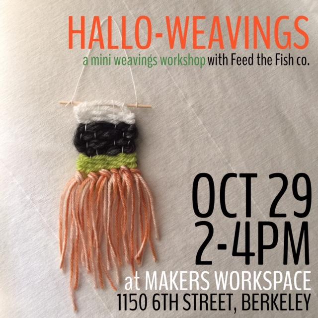 craft workshop tiny weavings feedthefishco