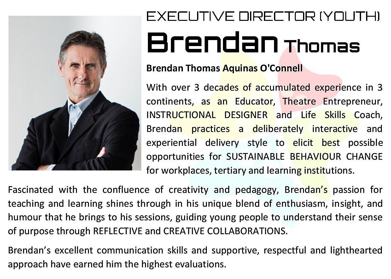 Mastering Leaddership Agility - Speaker bio Brendan Thomas