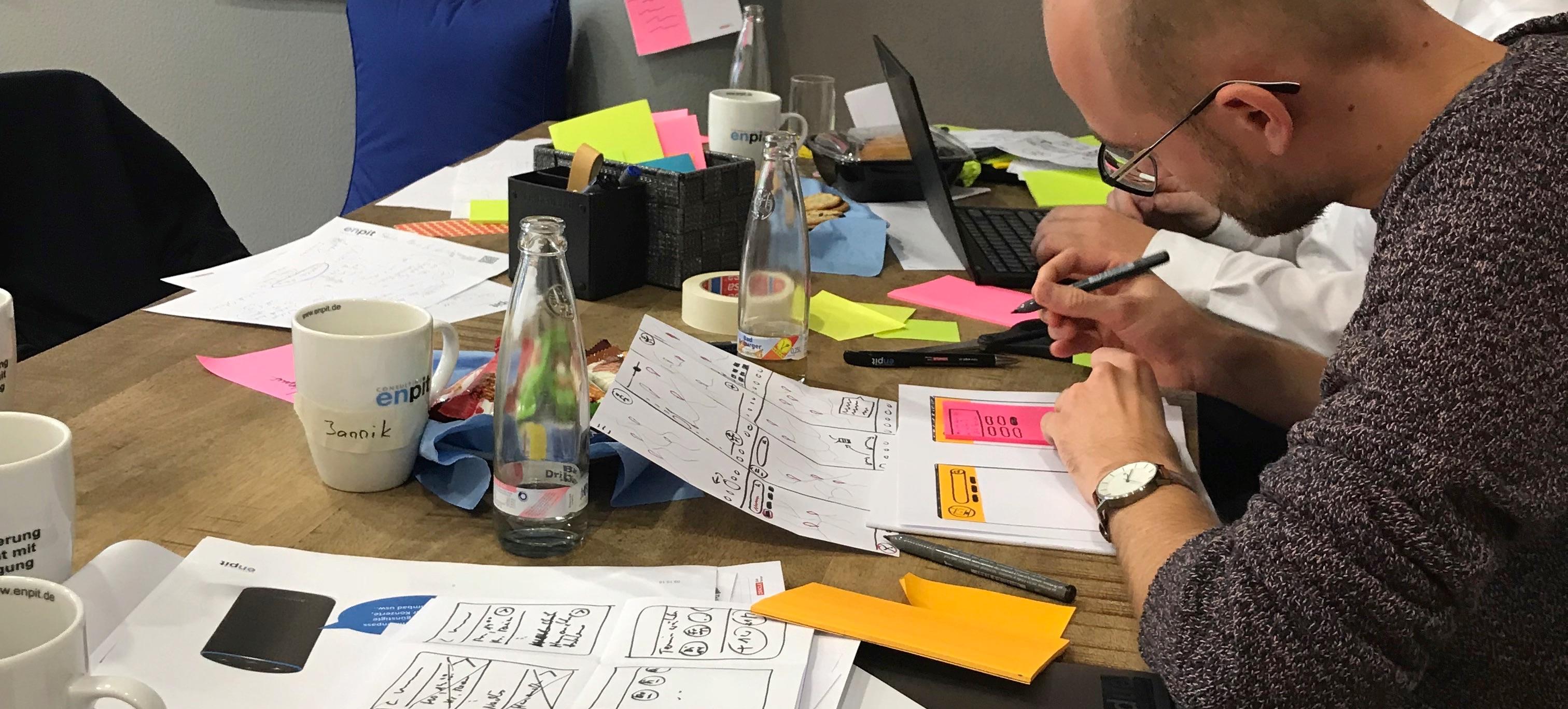Design Sprint - Sketch Phase