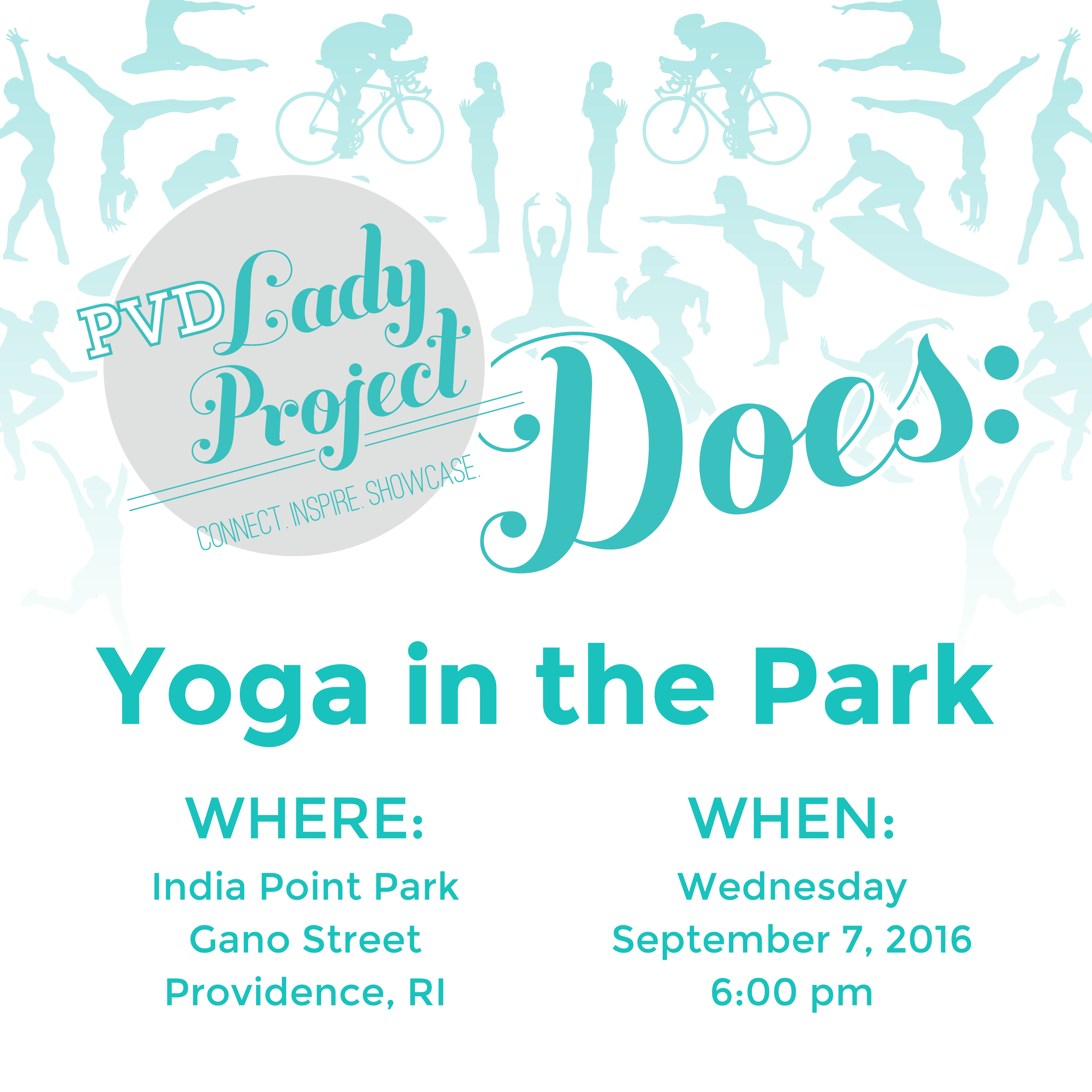 PVD Does Yoga in the Park