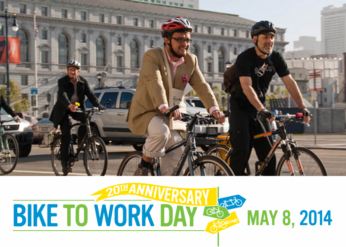 Bike to Work Day 2014
