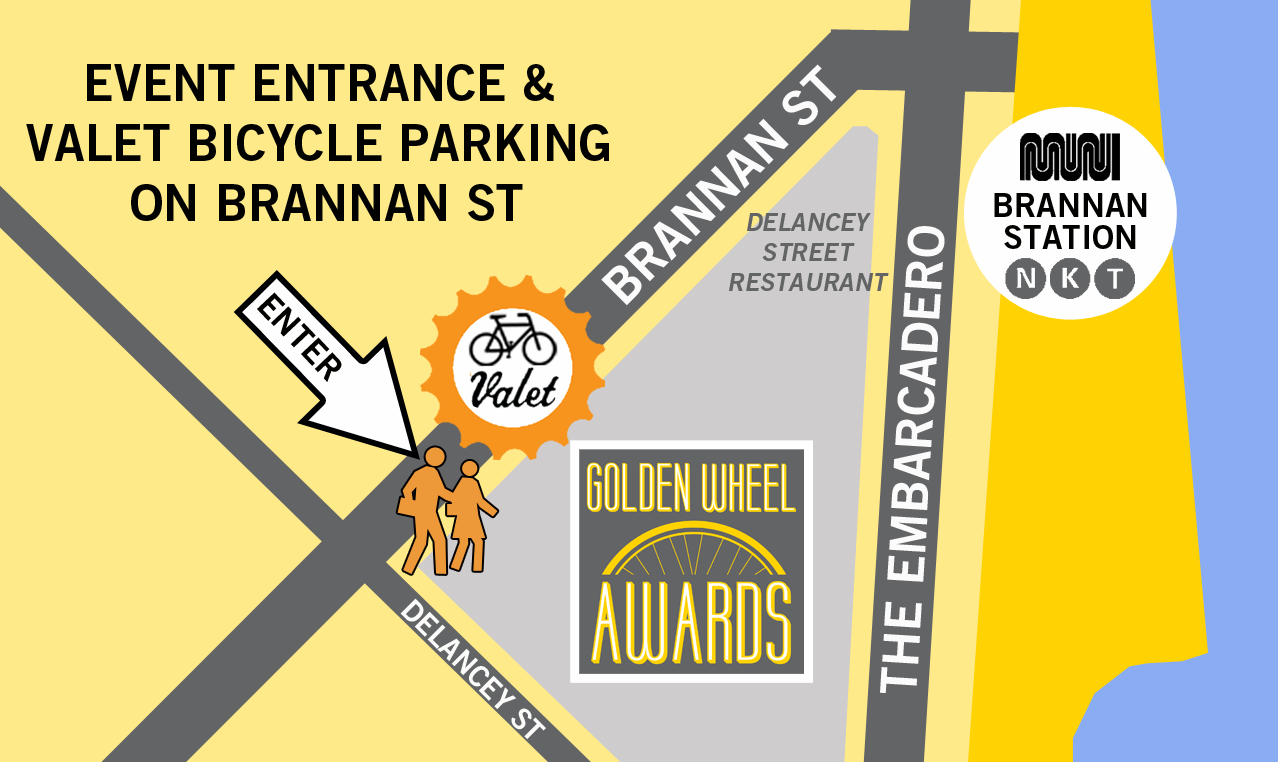 Golden Wheel Awards Map