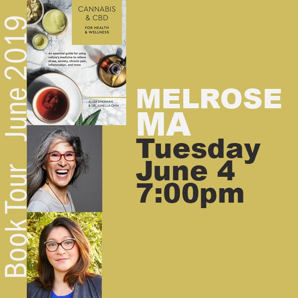 Cannabis Book Tour Melrose